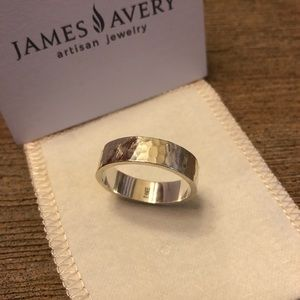 Men's James Avery Amore sterling silver band